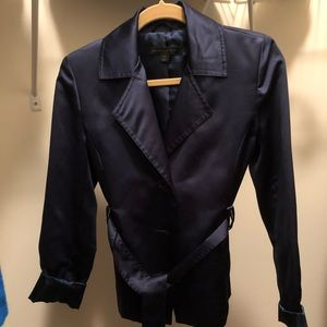 Express Navy blue light jacket in XS